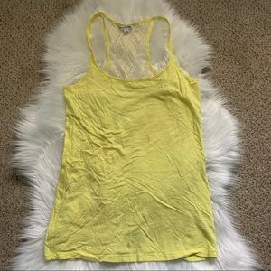 American Eagle Outfitters yellow tank